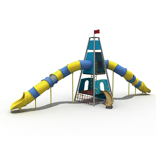 Castle Adventure Triangle Rope Tower Playground